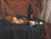 张祖英 静物 布面 油画 - 张祖英 - 中国油画·当代名家书画 - 2006艺术品拍卖会 -收藏网