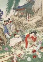湘云醉酒 立轴 设色纸本 - 8580 - 中国书画(一) - 2006春季拍卖会 -收藏网