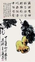 葫芦 - 梁崎 - 保真书画专场 - 北京嘉缘四季艺术品拍卖会 -中国收藏网