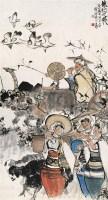 周昌絓(1929~1986)  春的使者 -  - 中国书画海上画派作品 - 2005年首届大型拍卖会 -收藏网