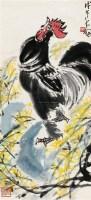 大吉图 立轴 设色纸本 - 陈大羽 - 中国近现代书画(一) - 2010秋季艺术品拍卖会 -收藏网