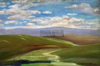 风景 布面油画 - 吴作人 - 中国油画  - 2010年秋季艺术品拍卖会 -中国收藏网