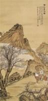 清秋出猎图 立轴 设色绢本 - 溥佺 - 中国书画(二) - 2010年秋季艺术品拍卖会 -收藏网