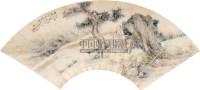 山水人物 镜心 纸本设色 - 胡锡珪 - 中国古代书画  - 2010秋季艺术品拍卖会 -收藏网