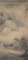 山水 立轴 绢本 -  - 文物公司旧藏暨海外回流 - 2010秋季艺术品拍卖会 -收藏网