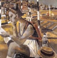 自画像 布面  油画 - 夏俊娜 - 华人西画 - 2006年度大型经典艺术品拍卖会 -收藏网