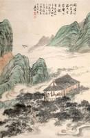 陆恢 山水 立轴 - 119065 - 中国书画、油画 - 2006艺术精品拍卖会 -收藏网