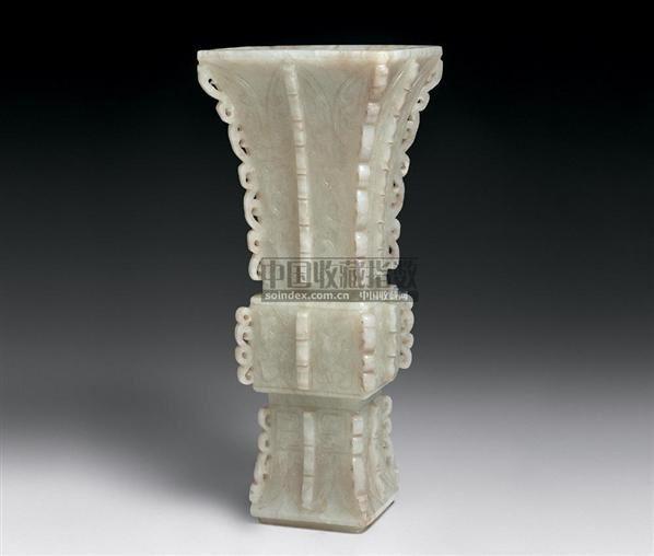 白玉方觚 -  - 中国古代工艺美术 - 2006年度大型经典艺术品拍卖会 -中国收藏网