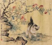 猫 镜心 纸本 - 4625 - 中国书画 - 2010秋季艺术品拍卖会 -收藏网