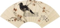 花鸟 扇面 纸本 - 何香凝 - 扇面小品 - 2010秋季艺术品拍卖会 -中国收藏网