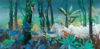 无可阻挡 布面油画 -  - 中国油画  - 2010年秋季艺术品拍卖会 -收藏网