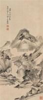 山水 立轴 水墨绢本 - 汤涤 - 中国书画(二) - 2006春季拍卖会 -收藏网