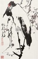 梅鹤同春 镜片 设色纸本 - 118173 - 中国书画(二) - 2010年秋季艺术品拍卖会 -收藏网