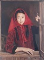 杨飞云 1990年作 望 - 杨飞云 - 西画雕塑(下) - 2006夏季大型艺术品拍卖会 -收藏网