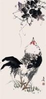 雄鸡 - 王雪涛 - 2010上海宏大秋季中国书画拍卖会 - 2010上海宏大秋季中国书画拍卖会 -收藏网