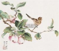 麻雀 镜心 纸本设色 - 2605 - 中国书画(一) - 2010年秋季艺术品拍卖会 -收藏网