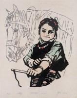 徐匡 1980年作 小骑手34/100 - 132503 - 当代艺术·卓克收藏专场 - 2006夏季大型艺术品拍卖会 -中国收藏网
