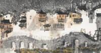 江南三月 镜心 设色纸本 - 徐希 - 中国书画(一) - 2006春季拍卖会 -中国收藏网
