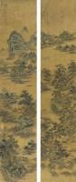 楊晉(1644~1728)夕陽歸牧圖 -  - 中国书画古代作品专场(清代) - 2008年秋季艺术品拍卖会 -收藏网