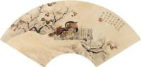 花鸟 扇面 纸本 - 陈之佛 - 扇面小品 - 2010秋季艺术品拍卖会 -收藏网