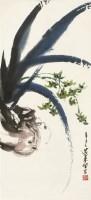 沈柔坚花卉 设色纸本 立轴 - 沈柔坚 - 2011迎春书画大型拍卖会 - 2011迎春书画大型拍卖会 -收藏网