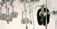 袁武 闲居图 硬片 - 袁武 - 中国书画、油画 - 2006艺术精品拍卖会 -收藏网