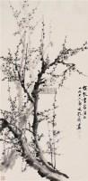 墨梅 立轴 水墨纸本 - 孔小瑜 - 中国近现代书画(一) - 2010秋季艺术品拍卖会 -收藏网