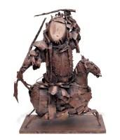焦兴涛 2005年作 戏剧人物·武将之一 - 150249 - 西画雕塑(上) - 2006夏季大型艺术品拍卖会 -收藏网