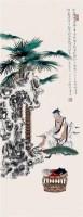 工笔人物 - 任重 - 2010上海宏大秋季中国书画拍卖会 - 2010上海宏大秋季中国书画拍卖会 -收藏网