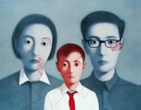 张晓刚   血缘 - 张晓刚 - 名家西画 当代艺术专场 - 2008年秋季艺术品拍卖会 -中国收藏网