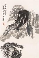 山水 镜心 水墨纸本 - 4879 - 中国书画(一) - 2006春季拍卖会 -收藏网