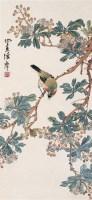 花鸟 立轴 设色纸本 - 陈摩 - 名家书画·油画专场 - 2006夏季书画艺术品拍卖会 -收藏网