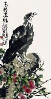 鹰石图 - 许麟庐 - 2010上海宏大秋季中国书画拍卖会 - 2010上海宏大秋季中国书画拍卖会 -收藏网