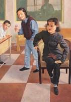 陈余 拈花者 布面油画 -  - (西画)当代艺术专题 - 2006年秋季精品拍卖会 -收藏网