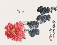 秋香 镜片 纸本 - 齐良迟 - 中国书画(下) - 2010瑞秋艺术品拍卖会 -收藏网