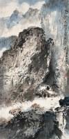 唐人诗意 立轴 设色纸本 - 杨善深 - 中国书画三 - 2010秋季艺术品拍卖会 -收藏网