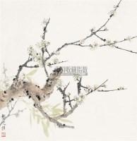 白梅 立轴 纸本设色 - 龚文桢 - 中国当代书画 - 2010秋季艺术品拍卖会 -收藏网