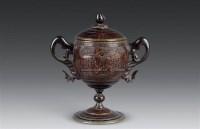 椰壳双耳杯 -  - 古董珍玩 - 2010秋季艺术品拍卖会 -收藏网