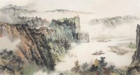 山水 镜心 设色纸本 - 陶一清 - 中国书画(二) - 2006春季拍卖会 -中国收藏网
