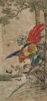 五伦图 镜心 设色绢本 - 沈铨 - 中国古代书画  - 2010年秋季艺术品拍卖会 -收藏网