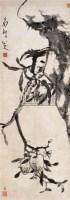 八大山人(1626~1705)    桃實千秋圖 - 八大山人 - 中国书画古代作品 - 2006春季大型艺术品拍卖会 -收藏网