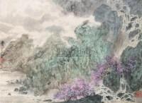 春泉 立轴 设色绢本 - 6234 - 中国书画夜场 - 2010秋季艺术品拍卖会 -收藏网