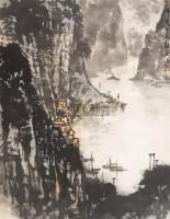 山水 镜心 设色纸本 - 宋文治 - 中国书画(一) - 2006春季拍卖会 -收藏网