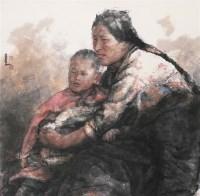 盼春风 镜心 设色纸本 - 南海岩 - 中国书画 - 第54期书画精品拍卖会 -收藏网