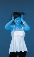 藍蚊子系列——女孩 -  - 名家西画 当代艺术专场 - 2008年春季拍卖会 -收藏网