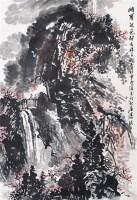 峨眉秋色 纸本 立轴 - 潘韵 - 中国书画(二)无底价专场 - 天目迎春 -收藏网