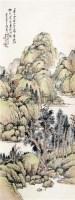 山水 立轴 纸本设色 - 吴徵 - 中国近现代书画  - 2010秋季艺术品拍卖会 -收藏网