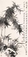 兰竹 镜心 水墨纸本 - 蒋风白 - 中国书画(一) - 2006春季拍卖会 -收藏网