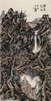 松荫说法 镜心 设色纸本 - 范扬 - 中国书画四·当代书画 - 2010秋季艺术品拍卖会 -收藏网