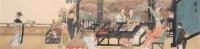 人物 镜心 设色纸本 - 徐乐乐 - 书画专场 - 2006年第2期精品拍卖会 -收藏网